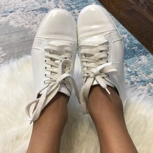 Christian Louboutin white sneakers